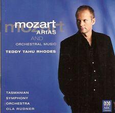 Mozart Arias & Orchestral Music / Teddy Tahu Rhodes
