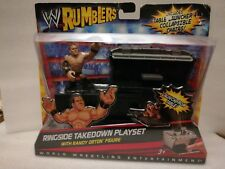 WWE Rumblers Randy Orton RIngside Takedown Playset Action Figure