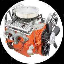 CHEVROLET V8 283 307 327 350 383 396 427 454 REBUILD Manual CD INC MERCRUISER