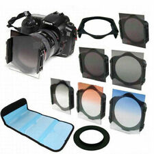 49mm ring Adapter+ ND2/ND4/ND8 + Graduated Orange/Blue/grey Filter for Cokin P