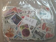 200 different stamps from SWEDEN
