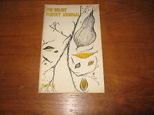 1955 Beloit Poetry Robert Creeley, John Colt, Dickey, Selwyn Schwartz Signed