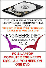 PC & Laptop Boot Disc Computer Engineers  Repair Tools recovery DVD Enlarged