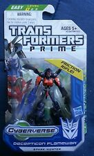 Transformers PRIME CYBERVERSE LEGION DECEPTICON FLAMEWAR MOSC SEALED 2011