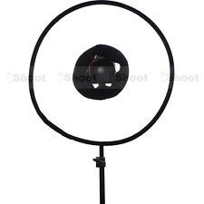 Universal 46cm Easy-fold Makro Ring Blitzdiffusor Blitzsoftbox Blitz Reflektor
