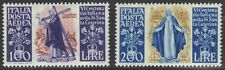 ITALY 1948 AIR MAIL ST CATHERINE SET SG C127-8 MINT HINGED