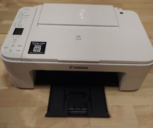 Canon Pixma TS3122 Wireless All-in-One Inkjet Printer White