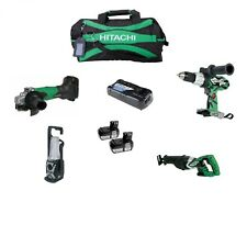 Hitachi 18V Lithium-Ion 4 Tool Combo Kit KC18DAL