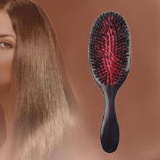 Brosse À Cheveux Vague Poils De Sanglier Courbe Ovale Peigne Coiffure Hair Comb