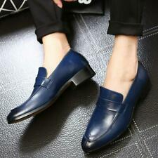2020 Men Oxford Leather Shoes Formal Slip On Loafers Business Casual Driving New