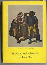 Böhmen Sudeten Kreis Mies Tuschkau Kladrau Trachten Heimat Volkskunde Buch 1967