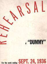 """Life Bound Set Sept 1936 - Nov 37 includes rare September 24, 1936 """"dummy"""" issue"""