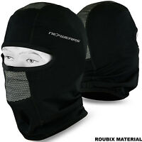 Motorcycle Balaclava Thermal Roubix Face Mask Motorbike Under Helmet Black