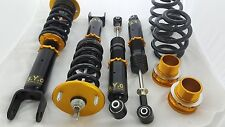 SYC ADJUSTABLE DAMPER COILOVERS F&R SET FOR SUBARU IMPREZA WRX GC8 97-02 SEDAN