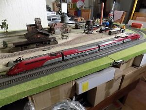 MEHANO THALYS, ELECTRIC TRAIN SET, SCALE HO