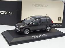 Norev 1/43 - Peugeot 3008 Noire