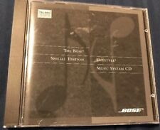 """BOSE® SPECIAL EDITION """"Lifestyle Music System CD"""" 1995 RARE OOP!"""