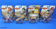 Mattel Disney Aviones 2 / Juego de 4 / ' Pontoon,avalanc,Leadbottom,firefighter