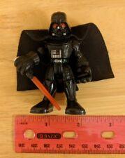 "Playskool Star Wars Galactic Heroes DARTH VADER 2.75"" Action Figure Felt Cape"