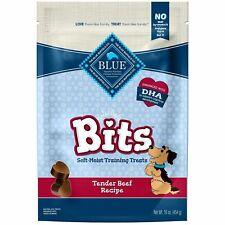 Blue Buffalo Blue Bits Tender Beef Soft-Moist Training Dog Treats