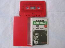U2 All I Want Is You CASSETTE RED Australia 1989 NEW / MINT RARE!