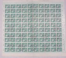 TIMBRES D'ALLEMAGNE : DDR 1980 YVERT N° 2145/49 Oblitéré EN FEUILLE COMPLETE TBE