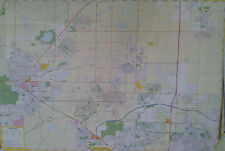 Longmont Boulder Broomfield 27 x 39 Laminated Wall Map (G)