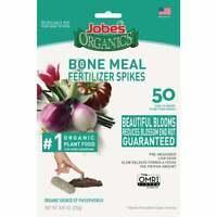 Jobe's Organics 2-14-0 Bone Meal Spikes (50-Count) 06328  - 1 Each
