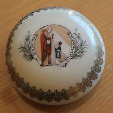 bonbonnière  porcelaine de limoge r.m  (souvenir de 1ere communion )