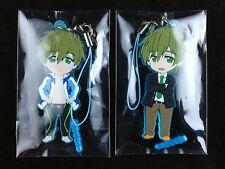 Free! Iwatobi Swim Club Rubber Strap set of 2 Earphone Jack Makoto Tachibana New
