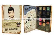MARKWINS 16pc Make Up TIN One Direction ZAYN Eye Shadow+Lip Gloss+Nail Polish 1D