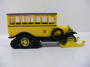 Matchbox Models Of Yesteryear Y16 1923 Scania Vabis Post Bus Yellow