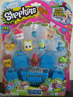 SHOPKINS Season 1-12 PACK Shopkins Special Edition FROZEN Inside POPSI COOL New