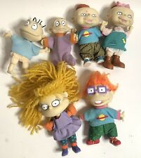 VINTAGE 1997 RUGRATS DOLLS FIGURES LOT OF 6 DOLLS MATTEL ARCO