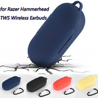 Silicone Earphones Protective Case for Razer Hammerhead TWS Wireless Earbuds