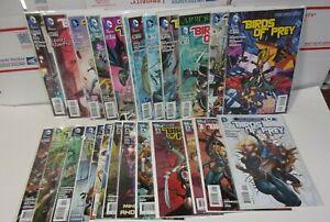 Birds of Prey #0 1-25 Complete High Grade DC Comics Run
