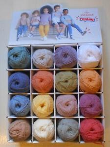 Sirdar Snuggly Replay DK Packet of 10x50g Acrylic/Cotton Baby Knitting Yarn