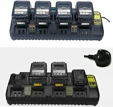 Charger For Dewalt Dcb104 18v 54v Flexvolt Xr 4 Port Li Ion Fast Battery Dcb184