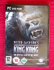 PETER JACKSON´S KING KONG (Official Game, Juego Oficial). PC DVD-ROM,  NUEVO!