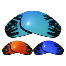 3 Pairs Purple&Blue&Orange Red Replacement Lenses for-Oakley Juliet Polarized