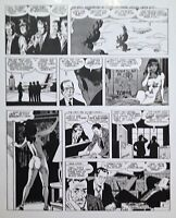 WALLY WOOD  CANNON  #4 PAGE 1  CLASSIC 1970s STRIP  ART TRANSPARENCY     VF