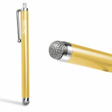 Gold Timri Gliding Stylus Micro-Fibre Tip Capacitive Stylus Pen for All iphone