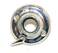 Chrome Plated Door Rosette Small Latch Door Hardware Privacy Antique Style