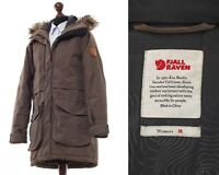 Women's FJALLRAVEN G-1000 Hydratic Greenland Parka Jacket Coat Wax Waxed Brown