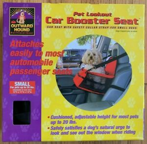 Outward Hound Pet Lookout Car Booster Seat (Small) NIB