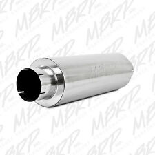 "MBRP Exhaust Muffler Quiet Tone Muffler, 5"" In/Out, 8? Dia. Body, 31? Overall, T"