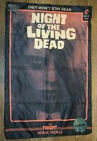 Night of the Living Dead VHS Cover Pillowcase Loot Crate Exclusive BRAND NEW!!