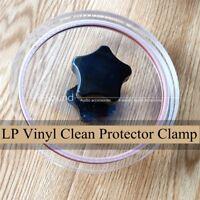 Label Saver Record Cleaner Album LP Vinyl Clean Protector Clamp Care Clip Cover