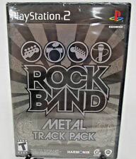 Rock Band Metal Track Pack Sony PlayStation PS2 2009 New Factory Sealed