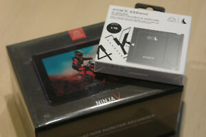 Atomos Ninja V **NEUHEIT** mit 500 GB SSD Mini by Angelbird vom Fachhändler